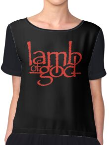 Lamb Of God Metalcore Merch Chiffon Top