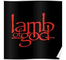 Lamb Of God Metalcore Merch Poster