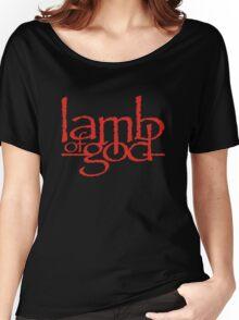 Lamb Of God Metalcore Merch Women's Relaxed Fit T-Shirt