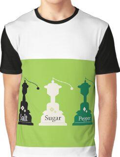 Beautiful colorful Salt, Sugar and Pepper set Graphic T-Shirt