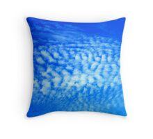 Bright Blue Sky - Dunsborough, Western Australia Throw Pillow