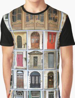 Doors of London Graphic T-Shirt