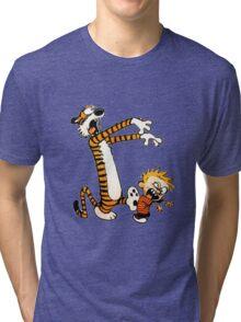 zombie calvin hobbes Tri-blend T-Shirt