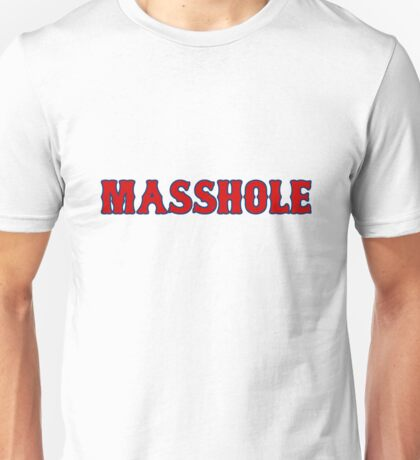 Red Sox Masshole Navy Blue / Red Unisex T-Shirt