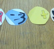 Hollywood Undead Day of The Dead Masks Sticker