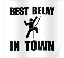 Best Belay Poster