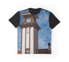 Wemyss Bay Station Tower, Scotland Graphic T-Shirt