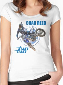 CHAD REED 22 Women's Fitted Scoop T-Shirt