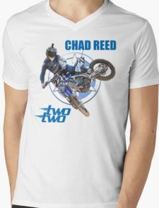 CHAD REED 22 Mens V-Neck T-Shirt