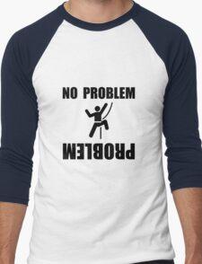 Climbing Problem Men's Baseball ¾ T-Shirt