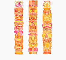 Tiki Totems – Orange Ombré Unisex T-Shirt