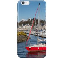 Kip Village Marina at Greenock, Inverclyde iPhone Case/Skin
