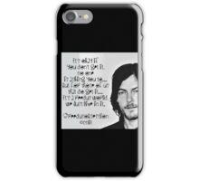 reedus obsessed iPhone Case/Skin