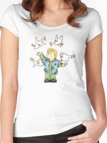 customs Women's Fitted Scoop T-Shirt