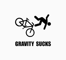 Gravity Sucks Bike Unisex T-Shirt