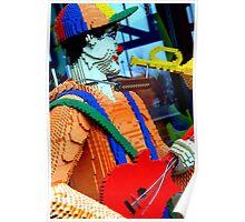 Lego Man Poster