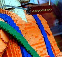 Lego Man Sticker
