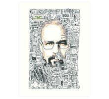 Breaking Bad - Walter White Art Print