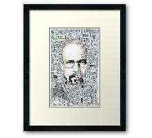 Breaking Bad - Walter White Framed Print
