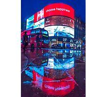 All marketing is propaganda @londonlights Photographic Print