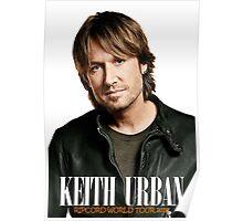 Keith Urban ; World Tour 2016 Poster