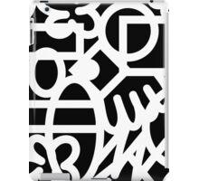 Graffiti and Marker #1 iPad Case/Skin