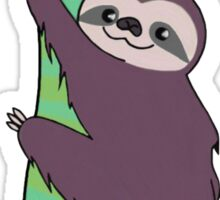 purple sloth Sticker