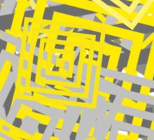 YG Abstract Geometric  Sticker