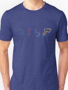 Starter Pokemon - Dark Theme T-Shirt