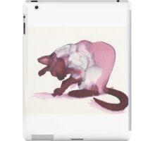 Inky Cat 1 iPad Case/Skin