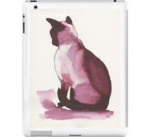 Inky Cat 4 iPad Case/Skin