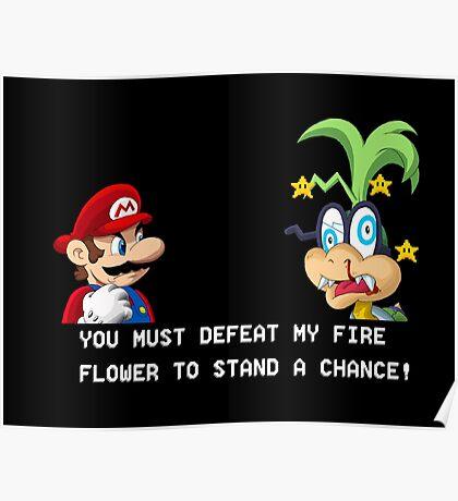 Super Street Fighter Mario Poster