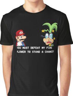 Super Street Fighter Mario Graphic T-Shirt