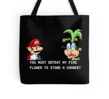 Super Street Fighter Mario Tote Bag