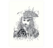 Johnny Depp (Pirates of the Caribbean) Art Print