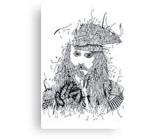Johnny Depp (Pirates of the Caribbean) Canvas Print