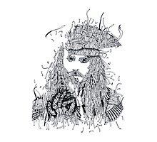 Johnny Depp (Pirates of the Caribbean) Photographic Print