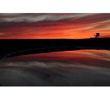Sunset in Newport Beach Photographic Print