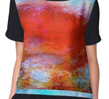 """Abstract...The """"Typhon"""" Women's Chiffon Top"""
