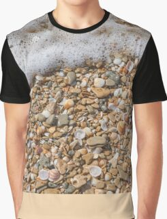 Seafoam and Shells Graphic T-Shirt