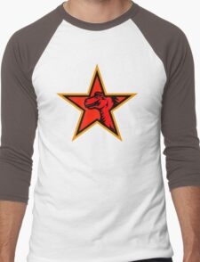 mozilla retro logo Men's Baseball ¾ T-Shirt