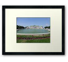 Belvedere Palace in Vienna, Austria Framed Print
