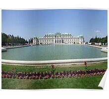 Belvedere Palace in Vienna, Austria Poster