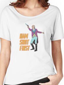 Ham Shot First Women's Relaxed Fit T-Shirt