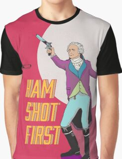 Ham Shot First Graphic T-Shirt