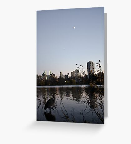 the Nature of Vancouver Greeting Card