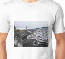 Cesky Krumlov Panoramic View, Czech Republic Unisex T-Shirt