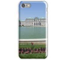 Belvedere Palace in Vienna, Austria iPhone Case/Skin