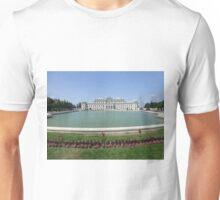 Belvedere Palace in Vienna, Austria Unisex T-Shirt
