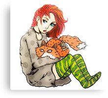 dana & fox Metal Print